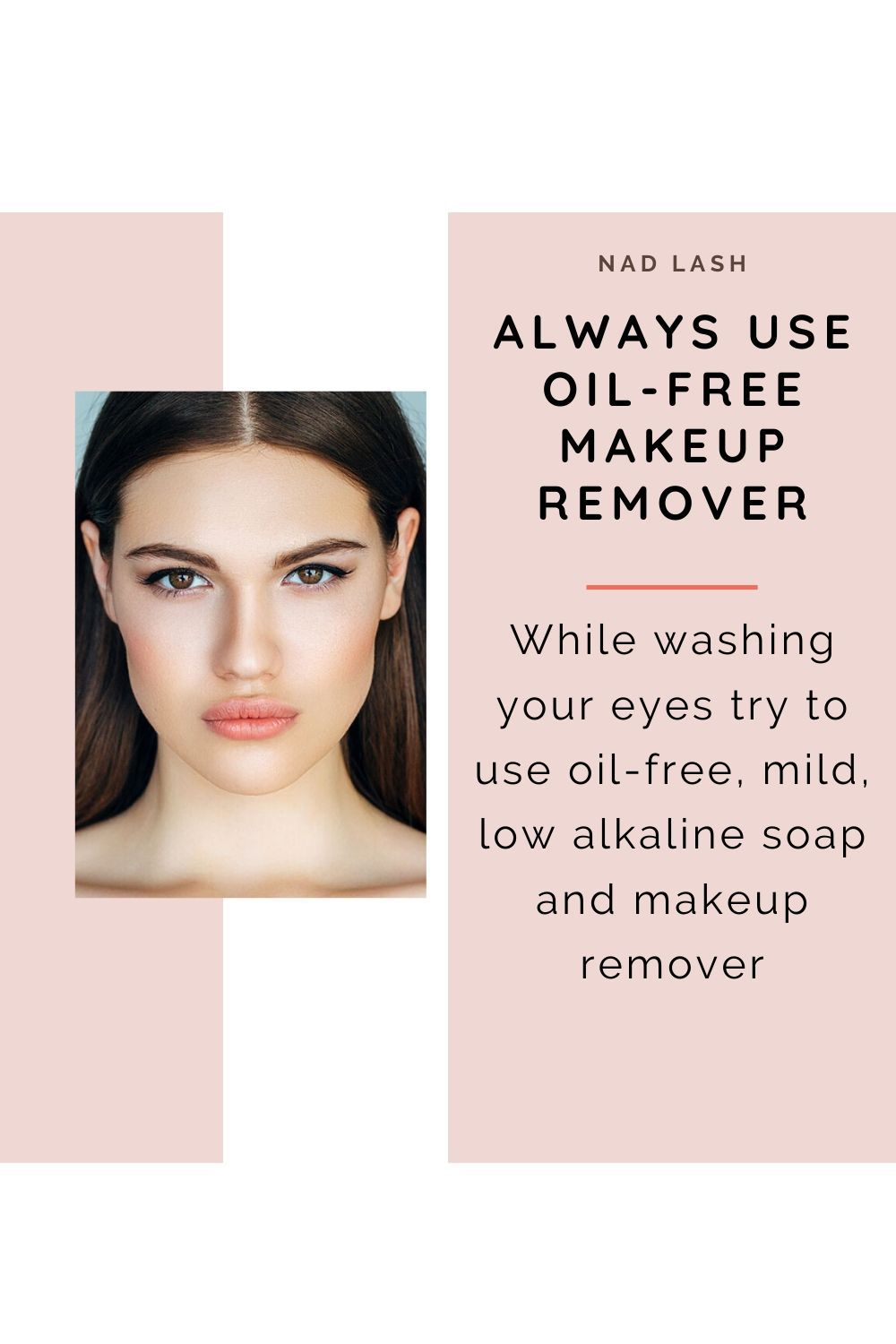 Lash Extension Use Oil Free Makeup Remover In 2020 Oil Free Makeup Remover Lashes Lash Extensions