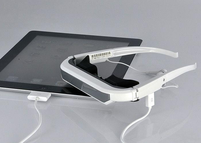 84 pulgadas de las gafas virtuales para iPod, iPhone y iPad son un gran accesorio adicional para mejorar su experiencia de producto de la marca Apple.