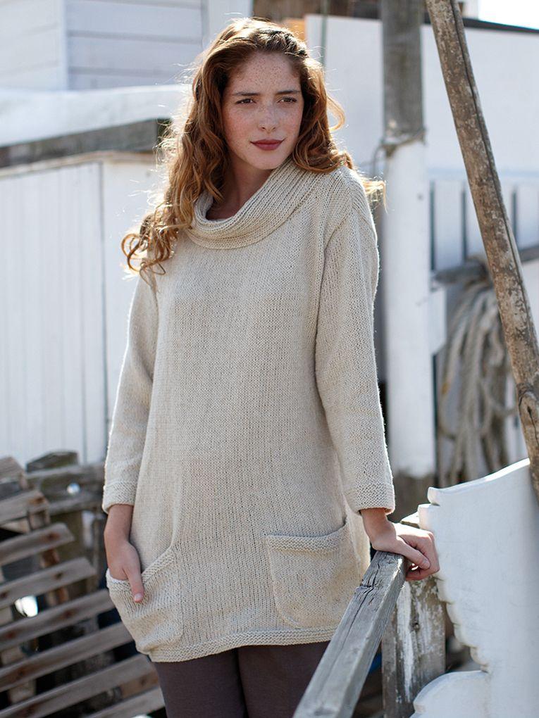Rhea - knitting design by Rowan | Strik | Pinterest