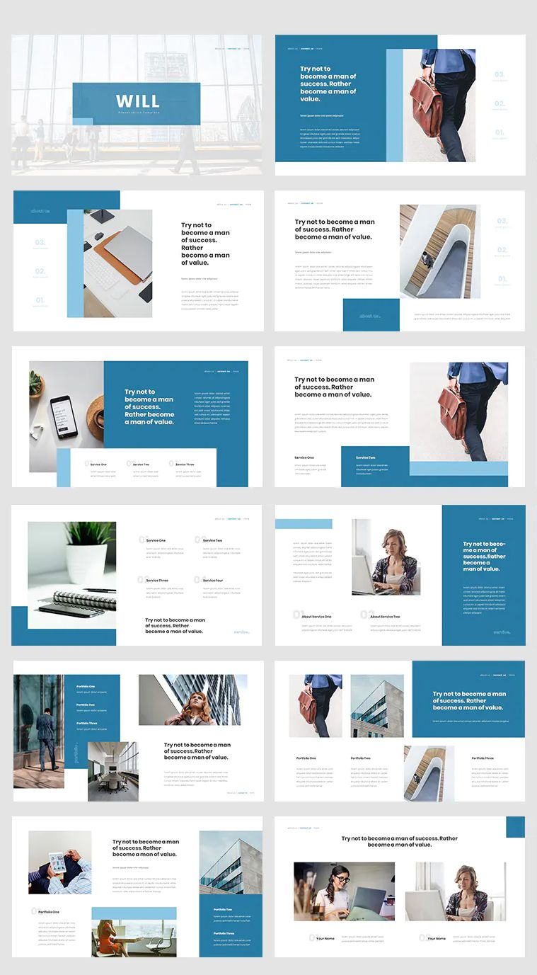 Insurance Protection Powerpoint Template 30 Total Slides Modern