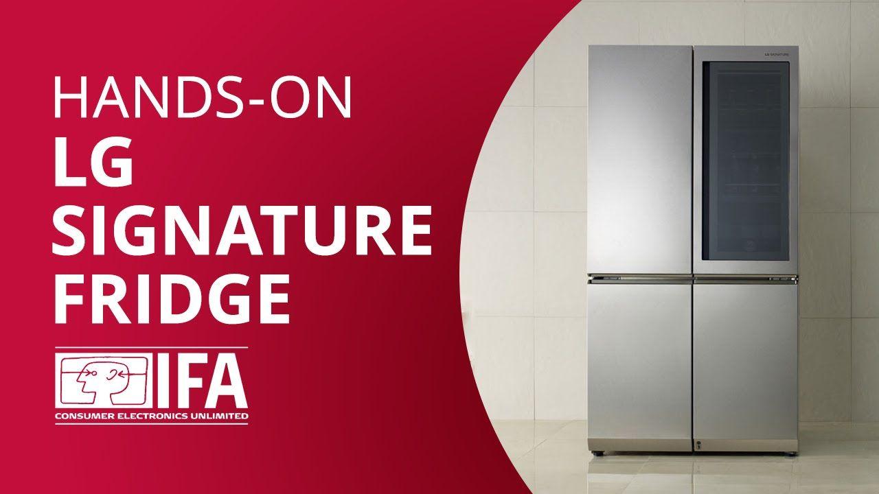 LG Smart Instaview: a geladeira inteligente da sul-coreana [Hands-on IFA...