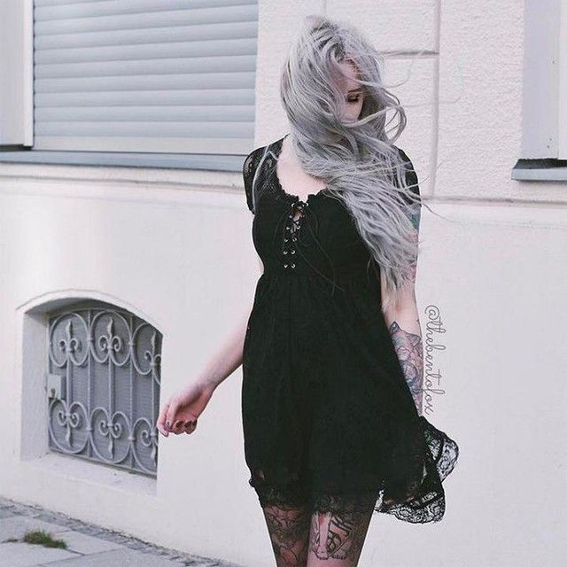 One of our favoritez!! http://www.dollskill.com/killstar-bella-morte-lost-babydoll-dress.html