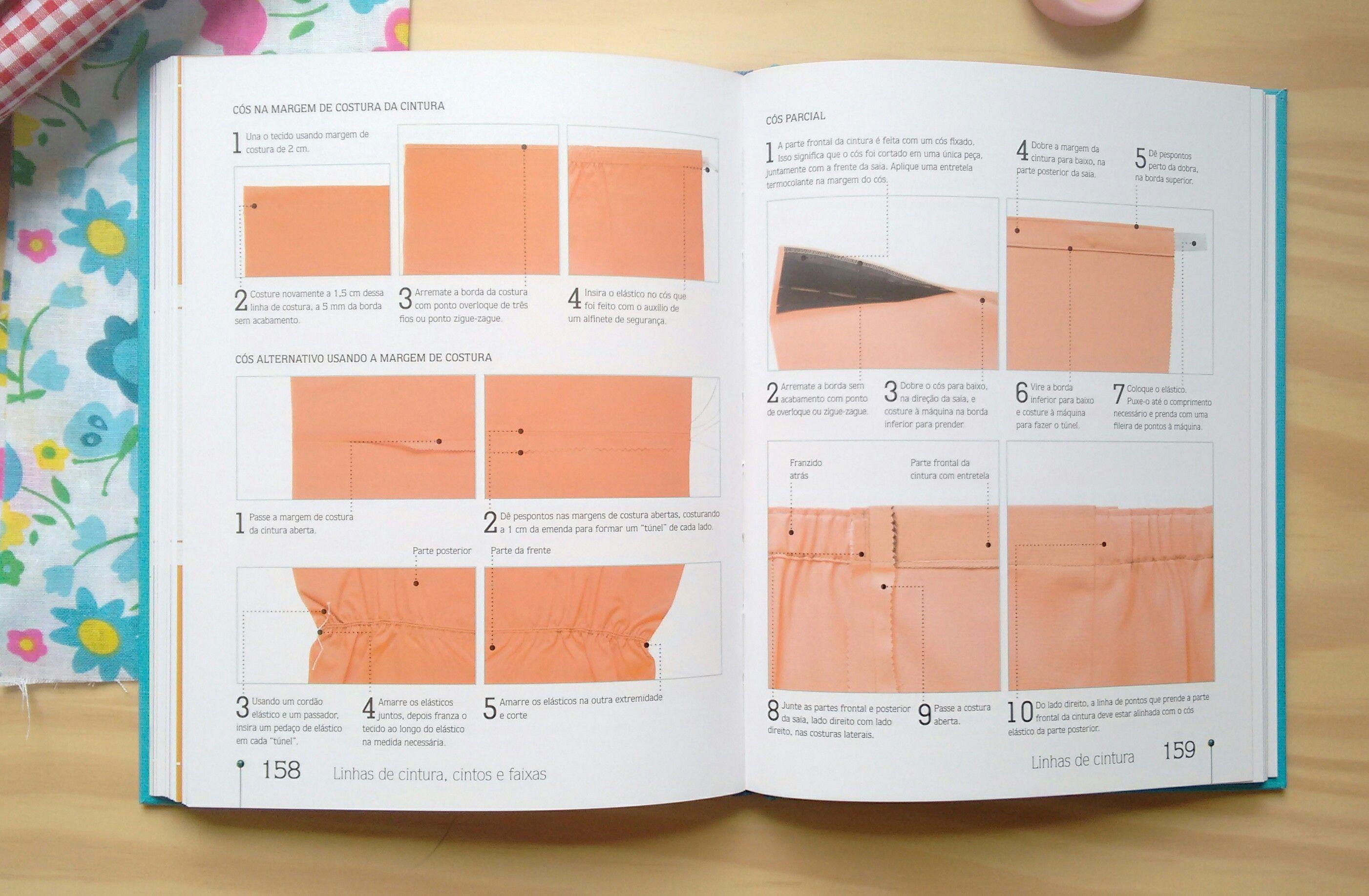 Livro: Costura Passo a Passo – Mais de 200 técnicas essenciais para iniciantes | Coruja Pop