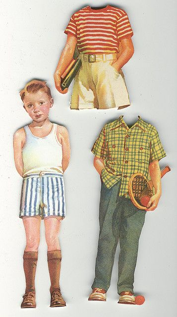 This paper doll group has lots of fun images. http://www.flickr.com/groups/vintagepaperdolls/
