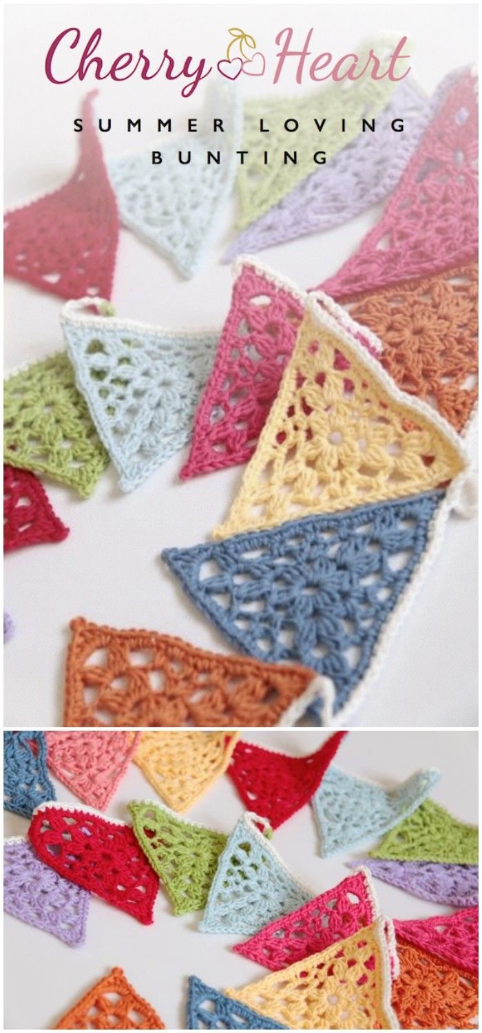 Easy Free Crochet Home Decor Patterns | Free Crochet, Buntings And Crochet