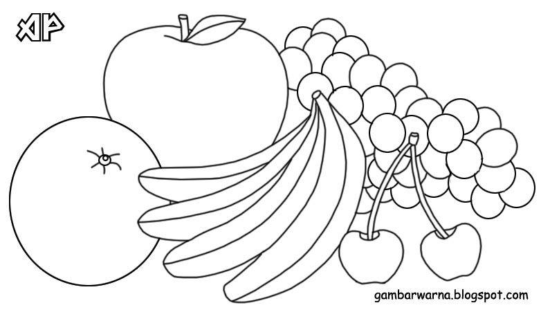 24 Gambar Buah Buahan Kartun Untuk Diwarnai Melalui Mewarnai Kreatifitas Dan Imajinasi Anak Akan Semakin Berkembang Gambar Mewarn Di 2020 Kartun Warna Buku Mewarnai
