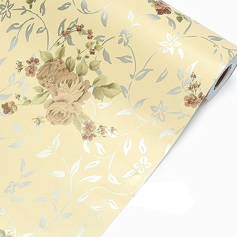 Contact Paper Vinyl Film Self Adhesive Contact Paper Vintage Floral Wallpaper Contact