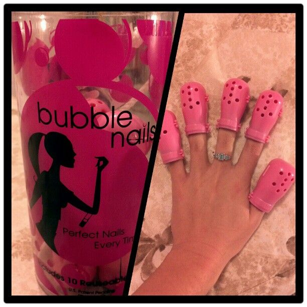 Yes ladies! They do exist! Bubble Nails. | LUUUX