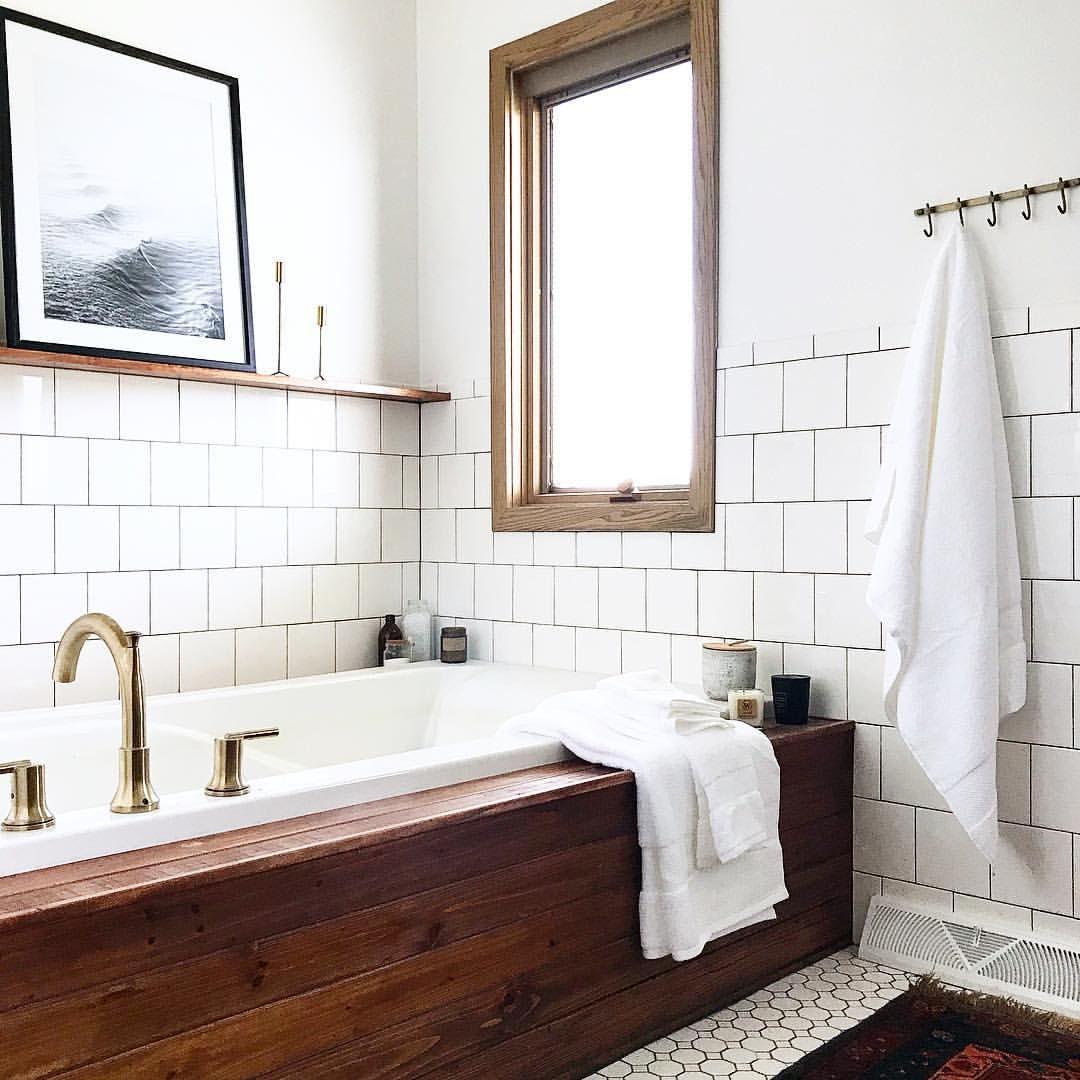 Spa bathroom - HUGE deep tub American Standard Cadet 72-in White ...