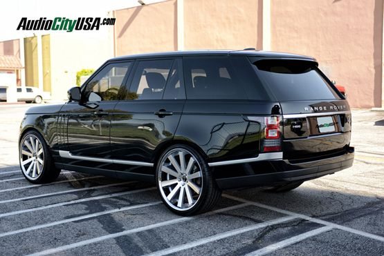 Photo of Silver Wheels for Range Rover