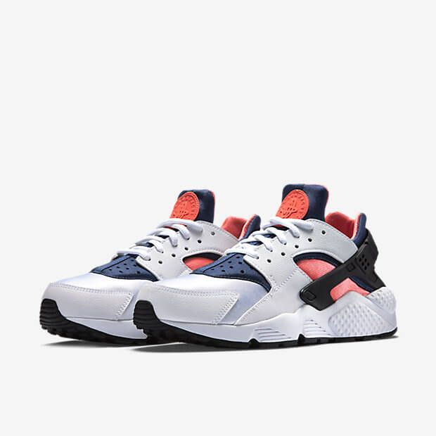 0a29e0694583d Nike Air Huarache Hot Lava Blue Legend http   thesolesupplier.