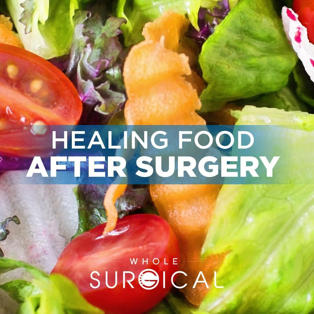 vegan diet after surgery