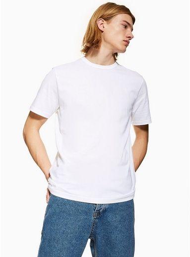 e38b282eced6 White T-Shirt 5 Pack in 2019 | White tshirt men | T shirt vest ...