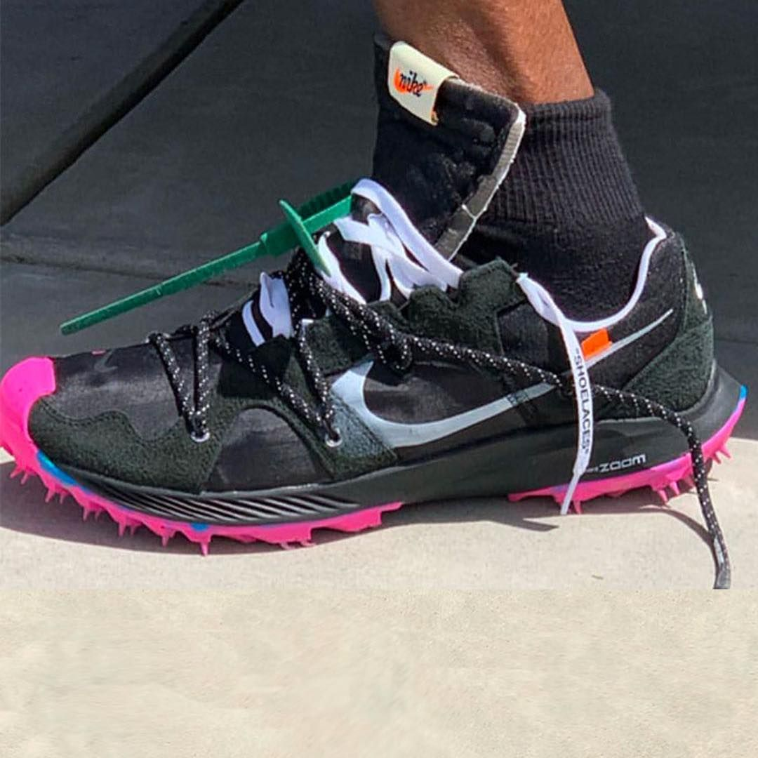 Virgil Abloh Off White Nike Zoom Terra Kiger 5 Hype Shoes Cheap Mens Shoes Branded Shoes For Men