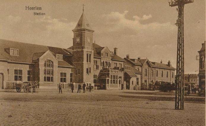 Station Heerlen na de uitbreiding in de periode 1912-1916