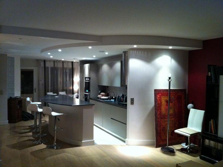 D coration cuisine ambiance design architecte d for Decoration plafond interieur