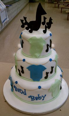 Baby Shower Music Cakes   Google Search