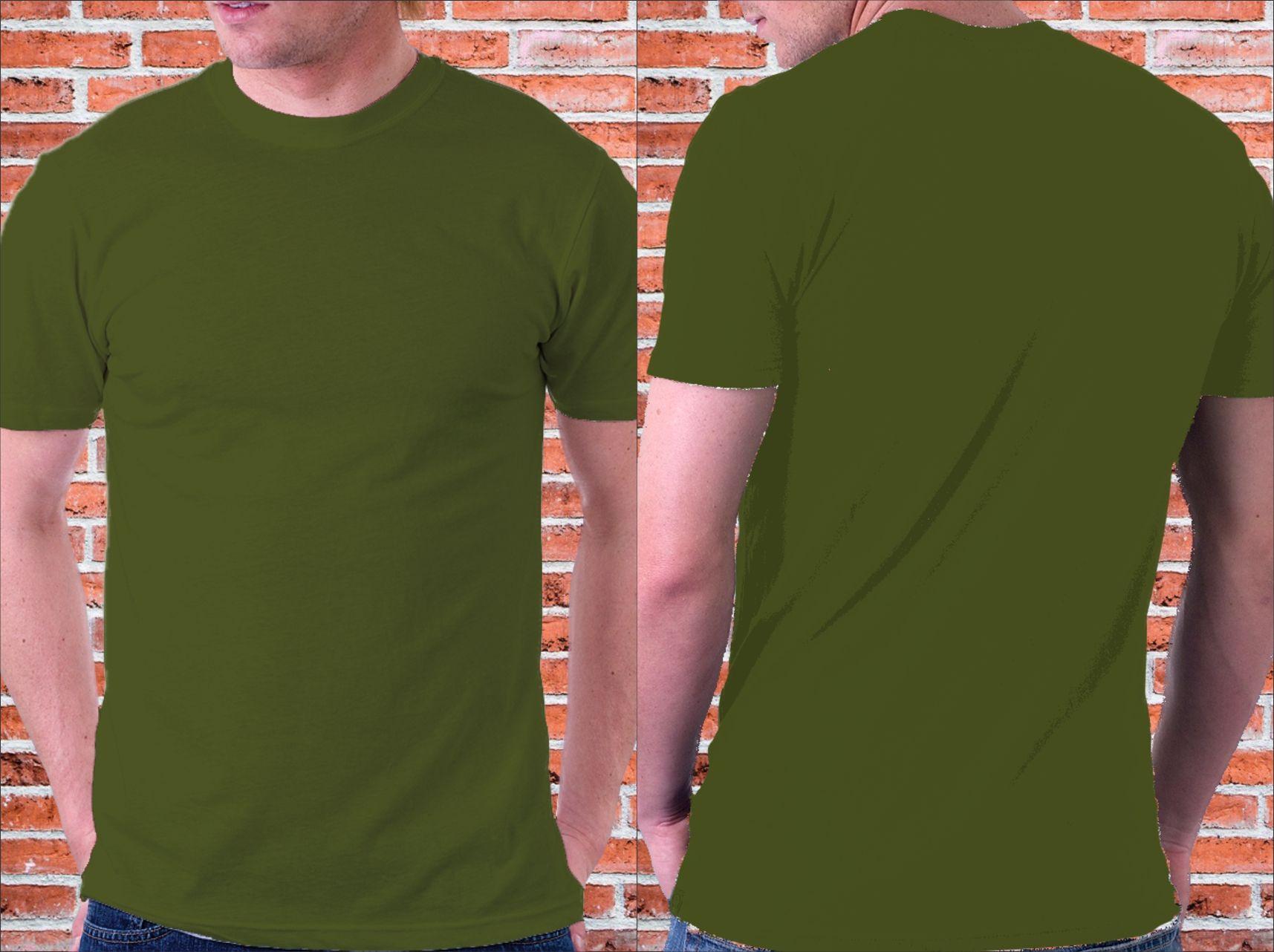 Download Mockup Kaos Polos Hijau Army Kaos Baju Kaos Vintage Outfits