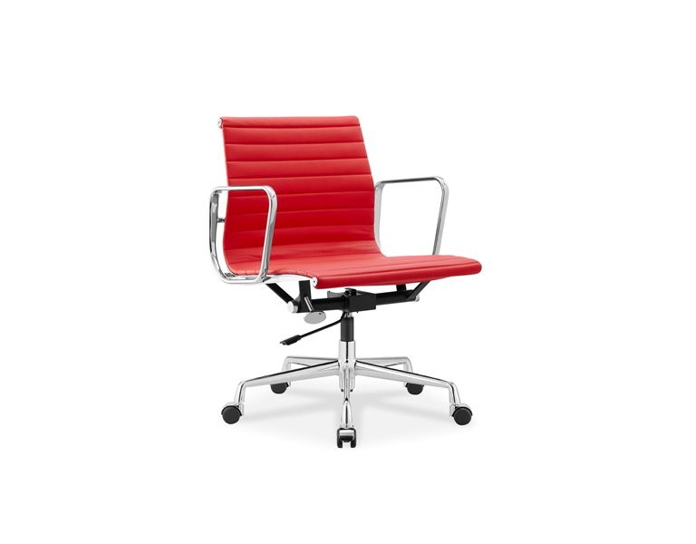 eames style task office chair white parts management ebay aluminum group