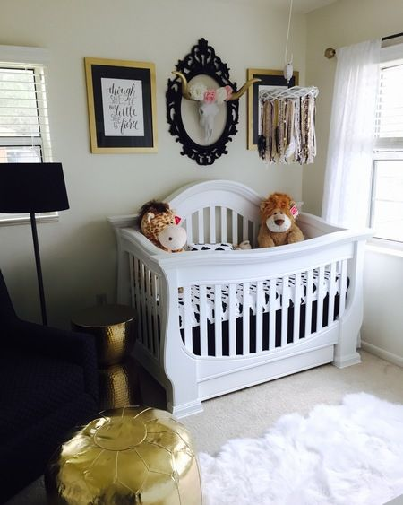 Baby Appleseed® Davenport 4in1 Convertible Crib in Pure