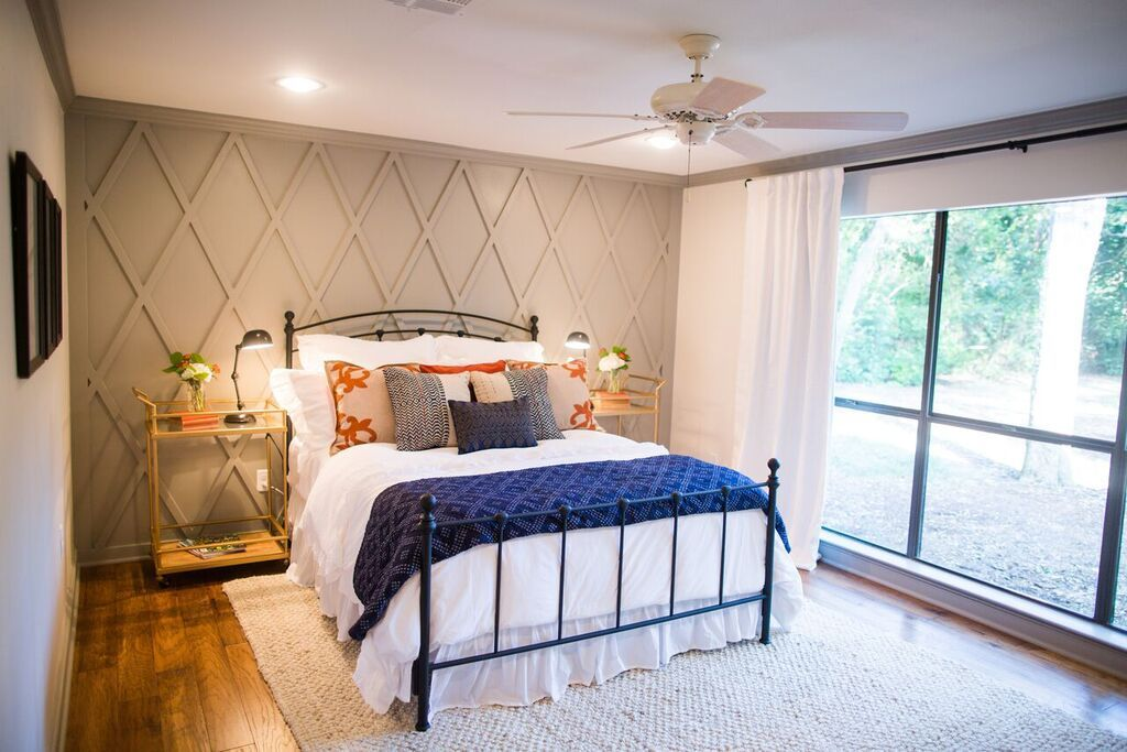 Episode 03 The House In The Woods Home Home Bedroom Accent Wall Bedroom
