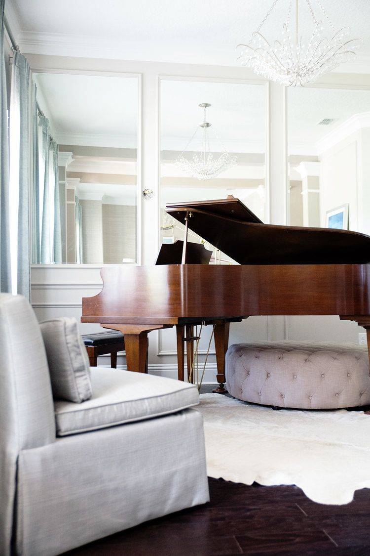 Grand piano in the living room! It always looks so classy and ...