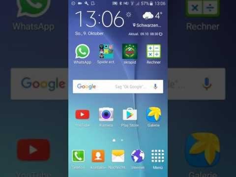 Whatsapp Bilder Sd Karte.Wie Verschiebe Ich Etwas Auf Die Sd Karte Youtube Smartphon