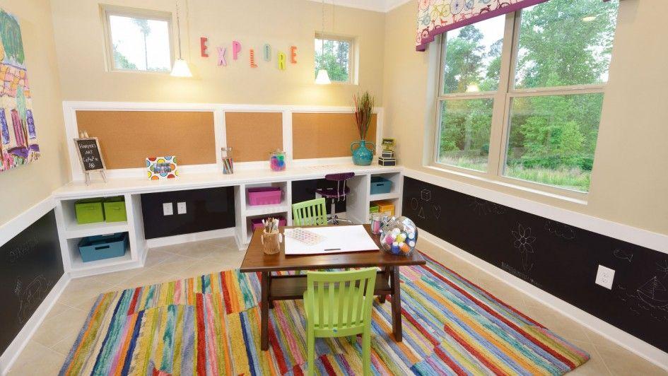 Kids Room Cute Kids Play Room Rectangle Multicolor Woll Geometric ...
