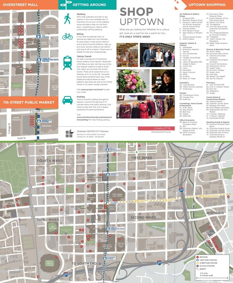 Charlotte shopping map | Maps | Pinterest | Shopping, Maps and Charlotte