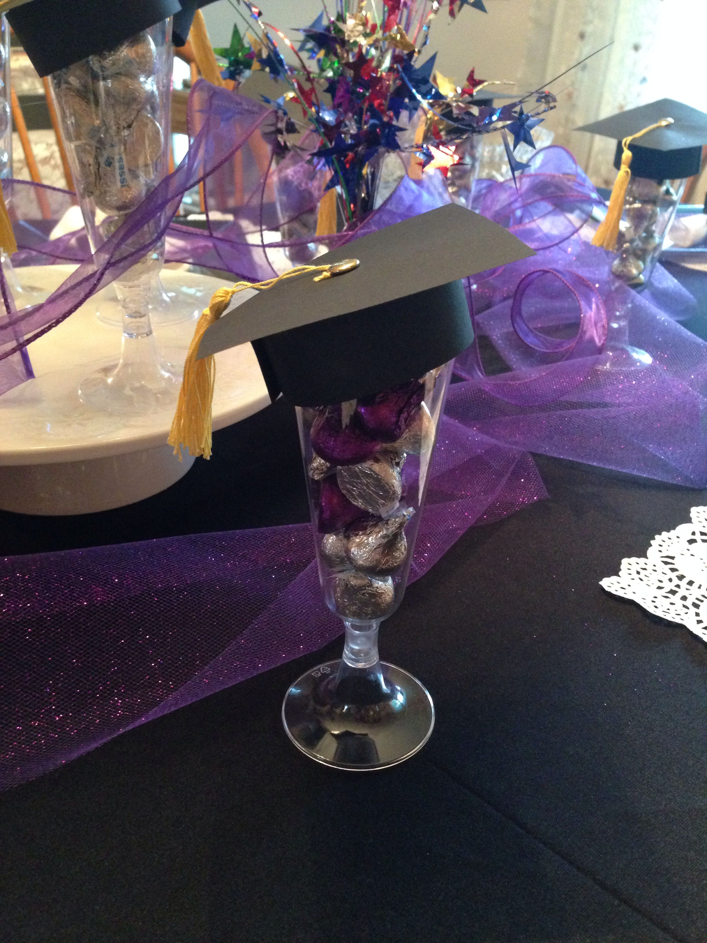 Graduation Cap Party Favors DIY