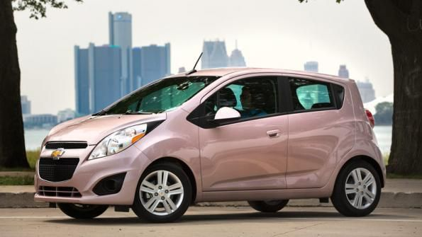 Chevy Spark Pink Chevrolet Spark Small Luxury Cars Spark Car