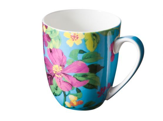Chintz coffee mug by Kas