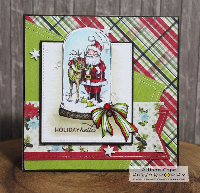 Power Poppy: Under Glass: Christmas Traditions (With