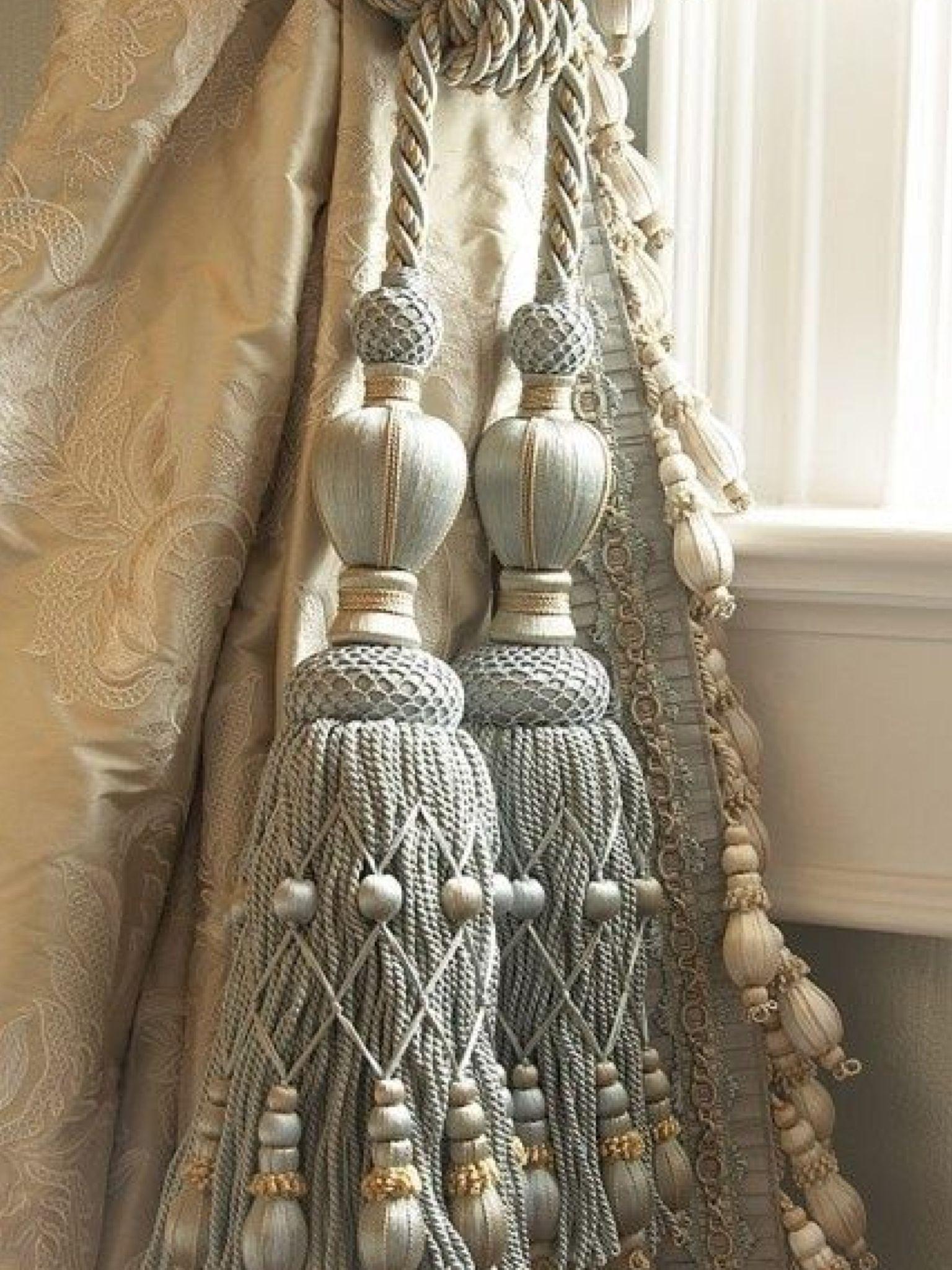 Beautiful Tassels Luv em Embroidery Tassels