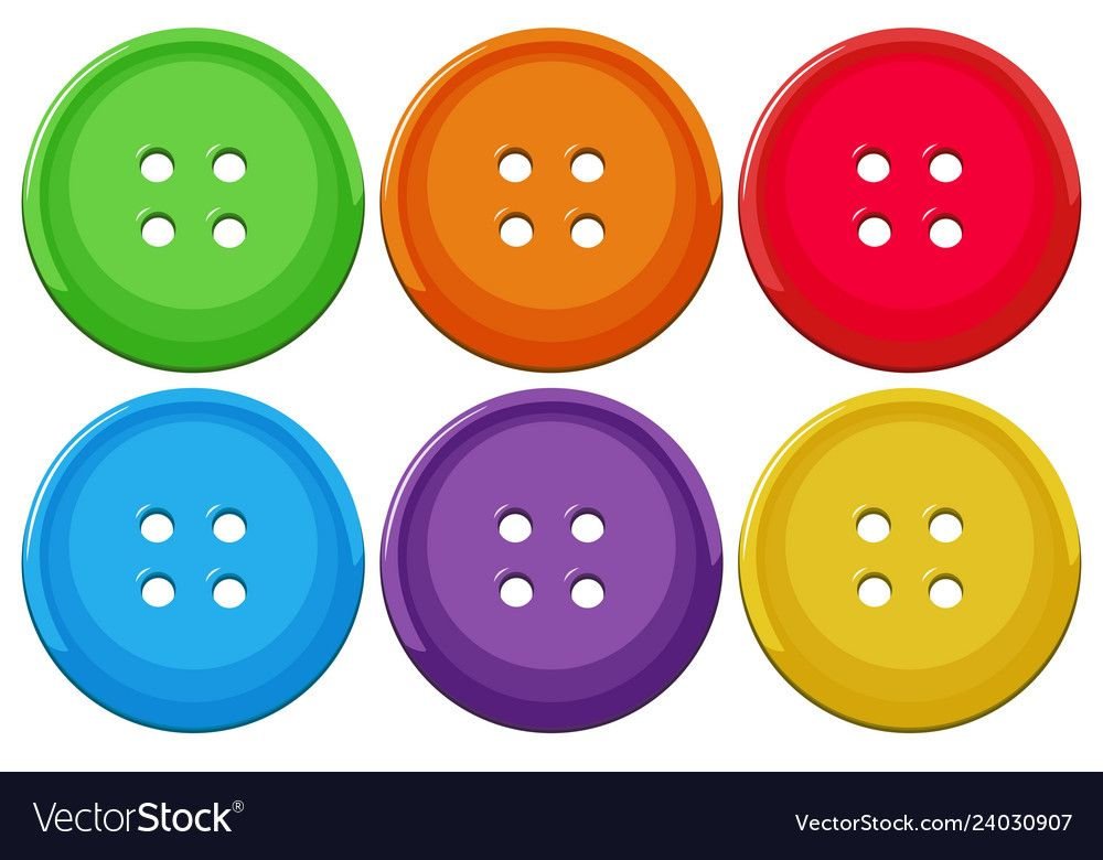 Set Of Colorful Buttons Illustration Download A Free Preview Or High Quality Adobe Illustrato In 2021 Free Preschool Printables Diy Preschool Kids Learning Activities