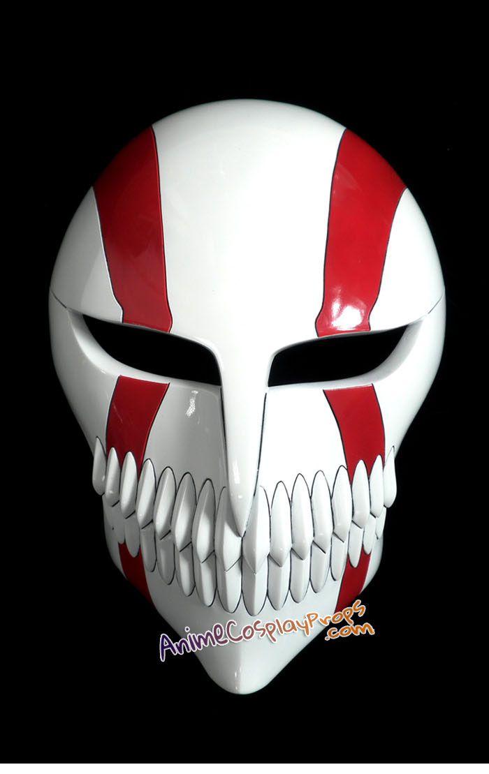 Bleach Masks Ichigo Kurosaki Cosplay Hollow Mask Anime Version ...