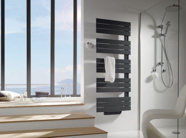 Modèle « Arborescence », existe en trois dimensions (ici, H 155 x L - puissance seche serviette salle de bain