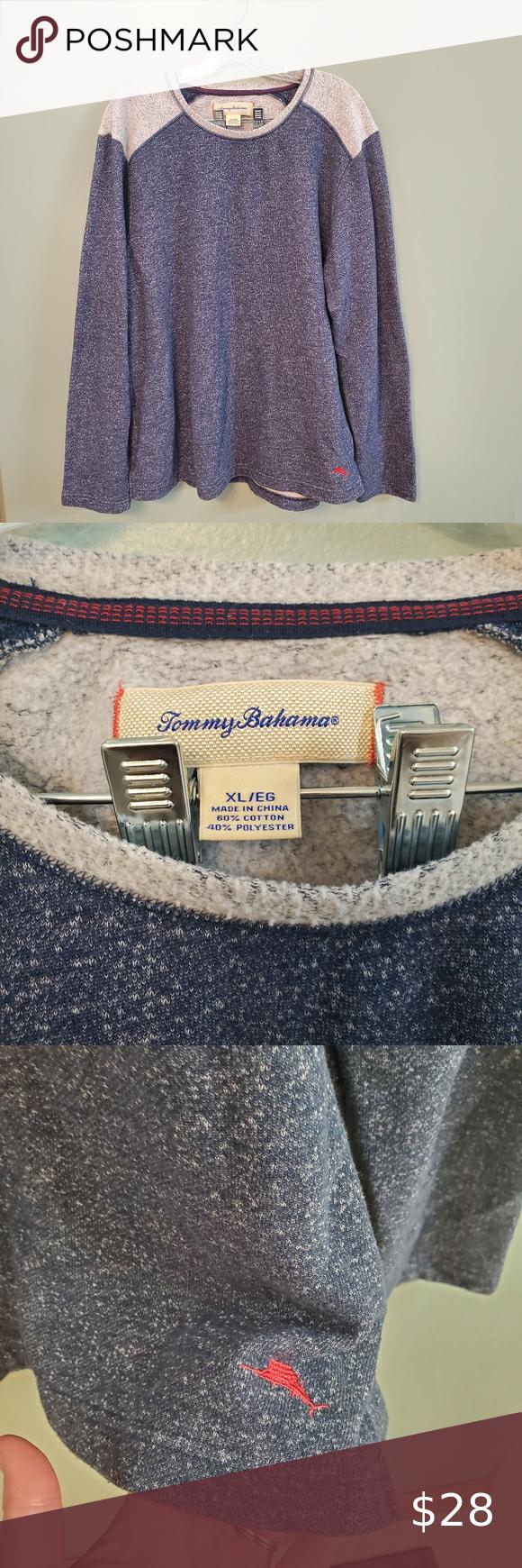 Tommy Bahama Sweatshirt Size Xlarge Tommy Bahama Mens Sweatshirt Great Condition No Flaws Blue And Gray Fast Tommy Bahama Shirts Tommy Bahama Tommy Bahama Mens [ 1740 x 580 Pixel ]
