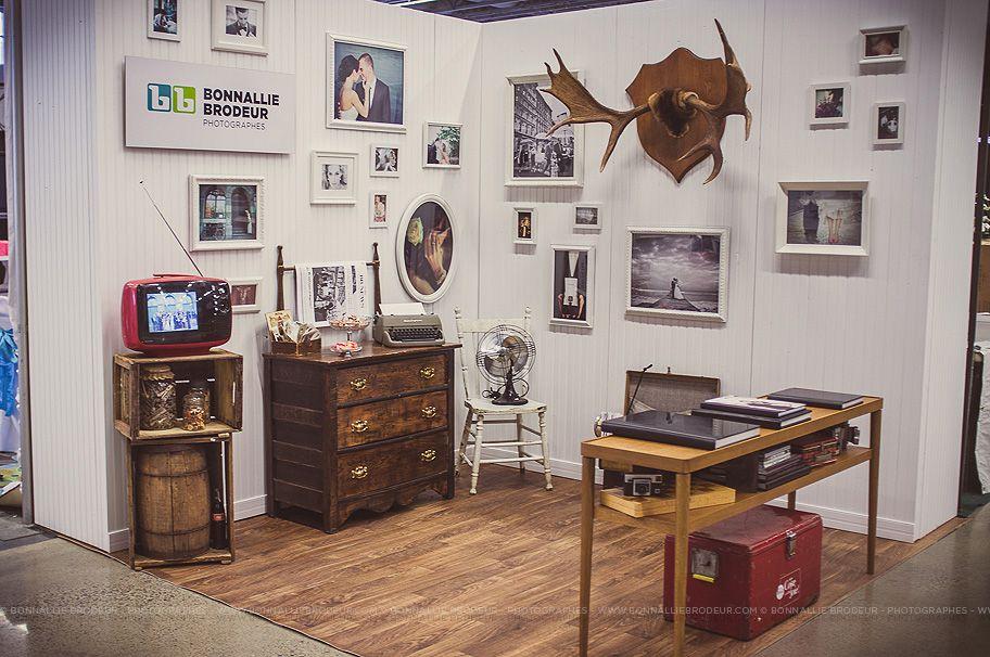 Kiosque Booth Vintage Photographe Photographer Panache Bonnallie Brodeur Stand Salon Salon Photographie