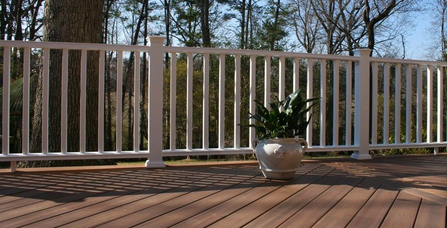 Veranda armorguard composite decking brazilian walnut for Veranda composite decking