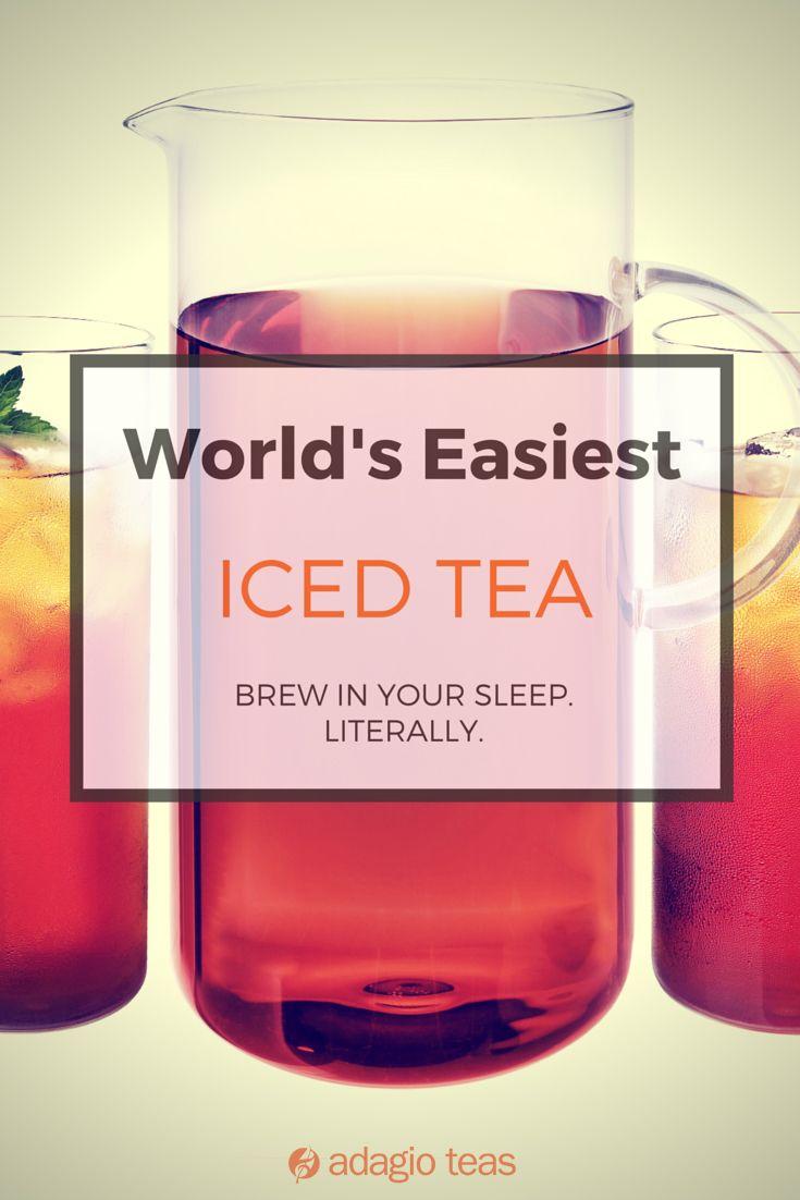 Iced Tea Smoothie Drinks Fun Drinks Tea Cocktails
