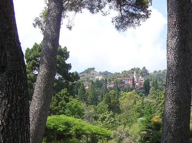 Italy, Hanbury-Garden