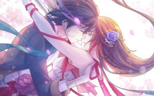 Beautiful Anime Kisses Anime Kiss Passion Love Beauty Anime Anime Couple Kiss Anime Lovers