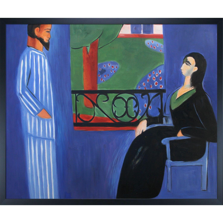 Henri Matisse \'The Conversation \' Hand Painted Framed Art | Great ...