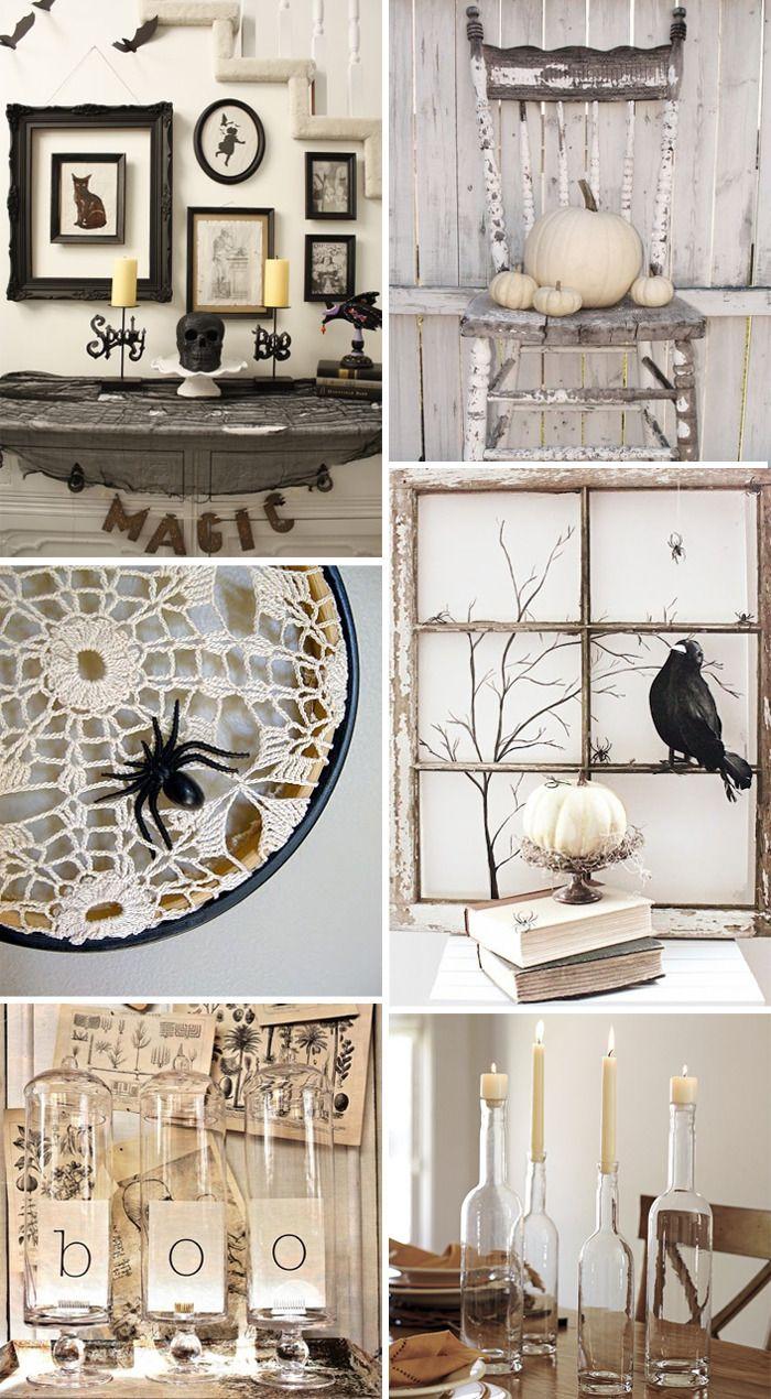 STUCK WITH PINS: Pinspiration - Halloween Shabby Chic | Halloween ...