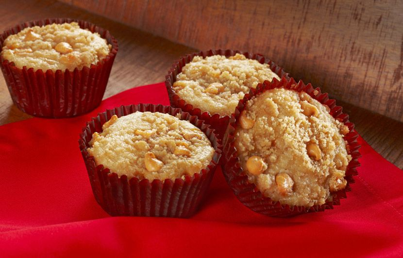 Try this Butterscotch Chip Applesauce Muffins recipe, made with HERSHEY'S products. Enjoyable baking recipes from HERSHEY'S Kitchens. Bake today.