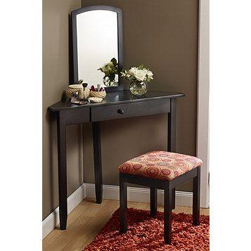 Mcleland Design Corner Vanity Set Black Corner Vanity Vanity Set Home