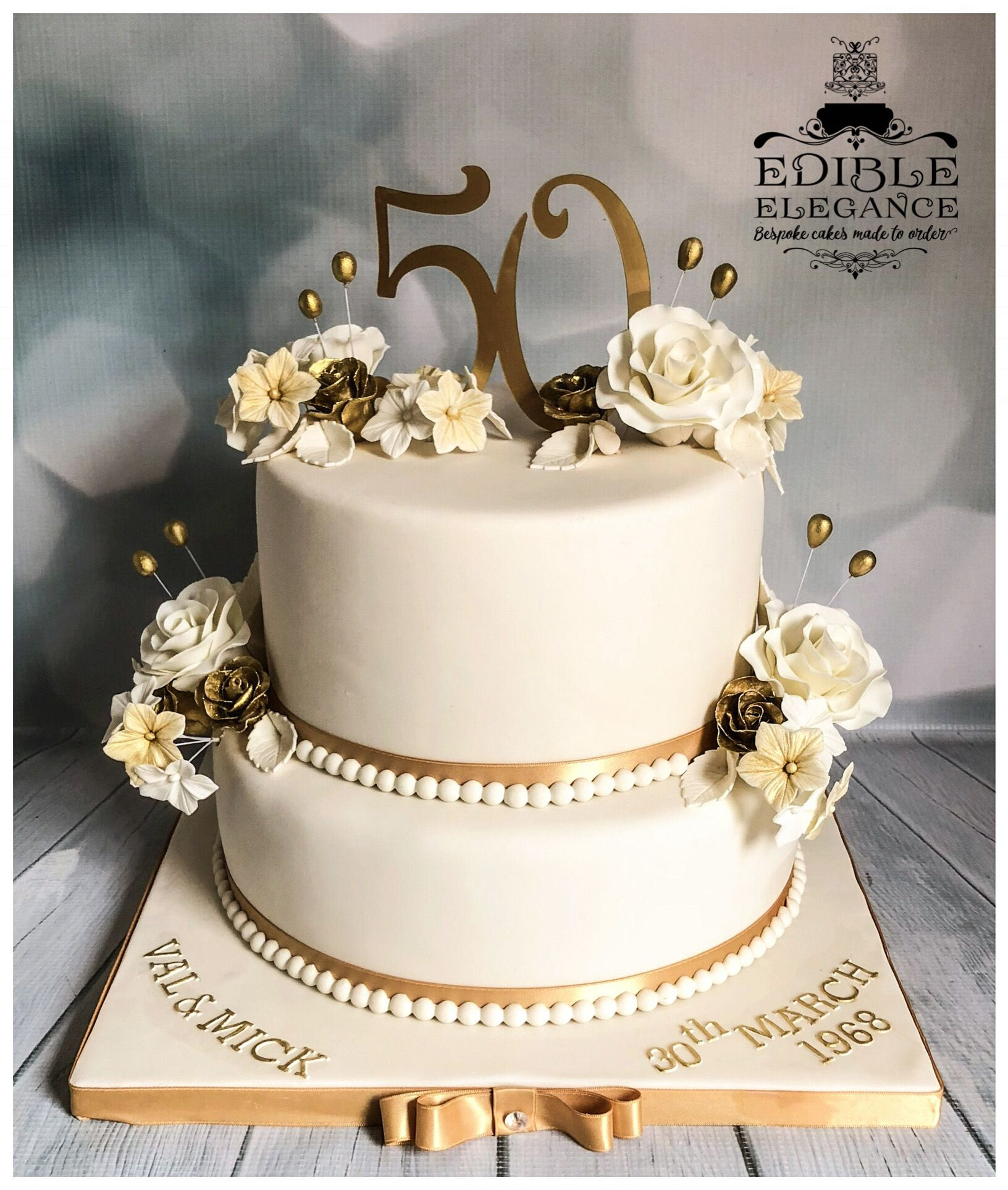 50th Golden Wedding Anniversary Cake 50th Wedding Anniversary Cakes 50th Anniversary Cakes Wedding Anniversary Cakes