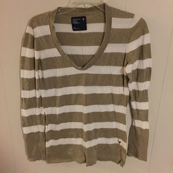 American Eagle Sweater Striped sweater, lightweight. Super comfy. Great condition. American Eagle Outfitters Sweaters