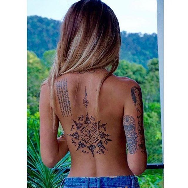 Simboli e significati del tatuaggio Muay Thai – Emma Stone – #TattooWomen – Muay Tha …